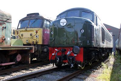 Class 44 D4 'Great Gable' (44004) Swanwick Jct (MRC).