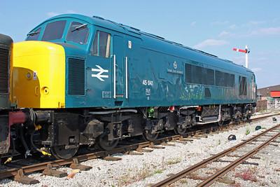 Class 45 45041 Swanwick Jct