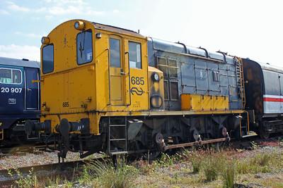 Shunter 685 Swanwick Jct