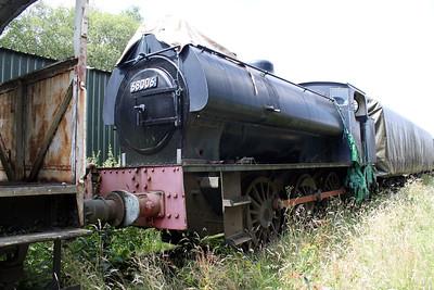 Hunslett Engine Co 0-6-0ST 68006 Peak Rail 30/07/11.