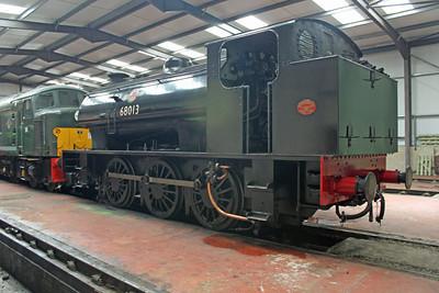 Ruston & Hornsby 0-6-0ST 68013 'Royal Pioneer'  Peak Rail