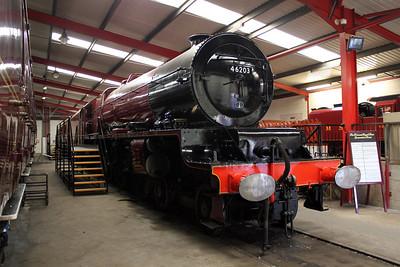 8P 4-6-2 46203'Princess Margaret Rose' Swanwick Jct (MRC).