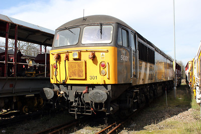 56301 stored prior to its sale and move at Hitchin OTP 14/03/11