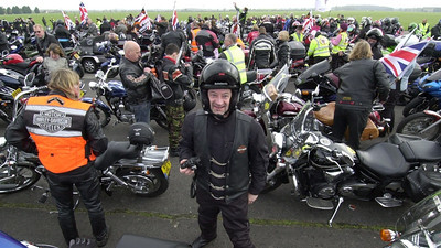 Ride of Respect - Part 2, Wootton Bassett, 3 Apr 2011  - click caption to view gallery