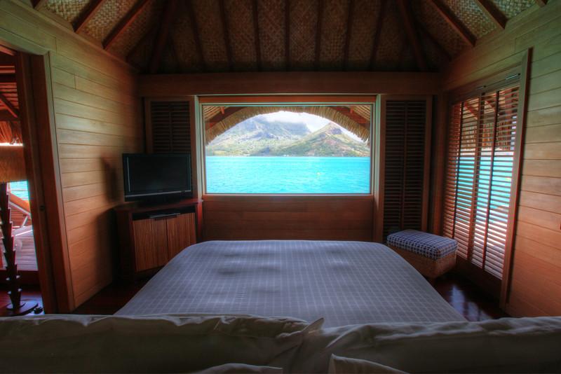 bora bora four seasons room view