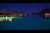 bora bora four seasons huts night 2