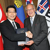 China / Gregory So Kam-leung<br /> Switzerland / Johann N. Schneider-Ammann
