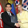 China / Gregory So Kam-leung<br /> Liechtenstein / Aurelia Frick