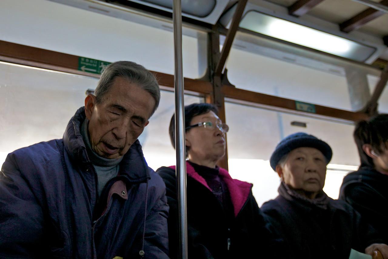 On a tram (2).