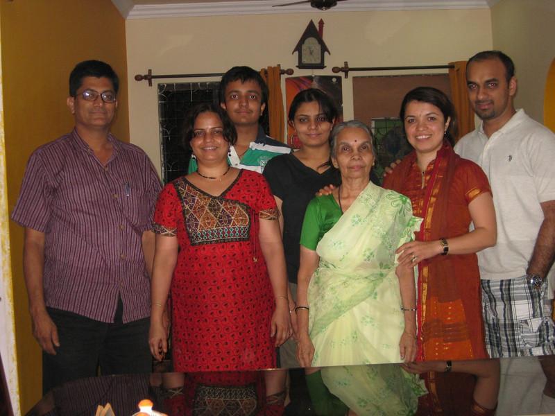 with Smita tai and family