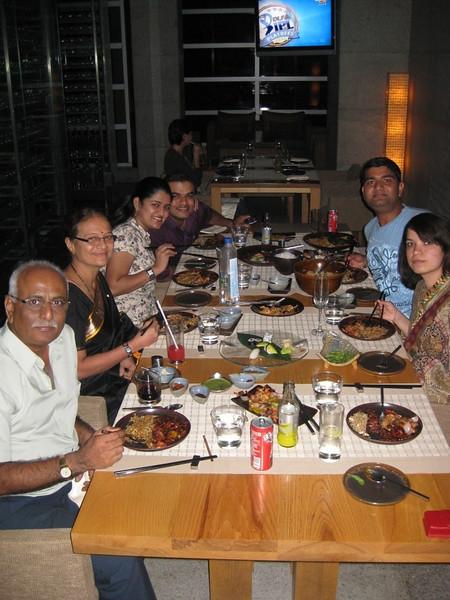 @ Four Seasons: Malai Chicken, Lamb chops, Sushi, and a lot lot more