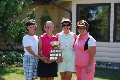 Women's Interclub B - Low Gross Division Winners Shilo Golf & Country Club