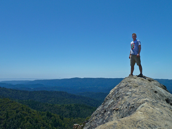 Brit on top of Goat Rock
