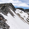 Ridge leading to Iron Mountain