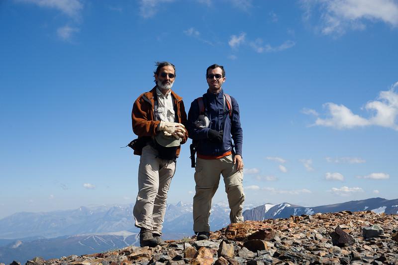 Mt. Gibbs summit