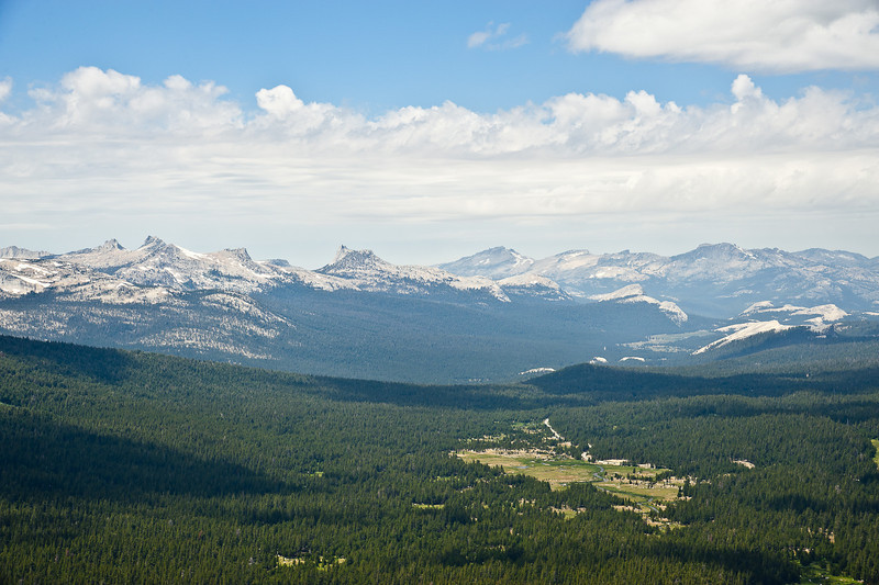 Central Yosemite and the Cathedral Range