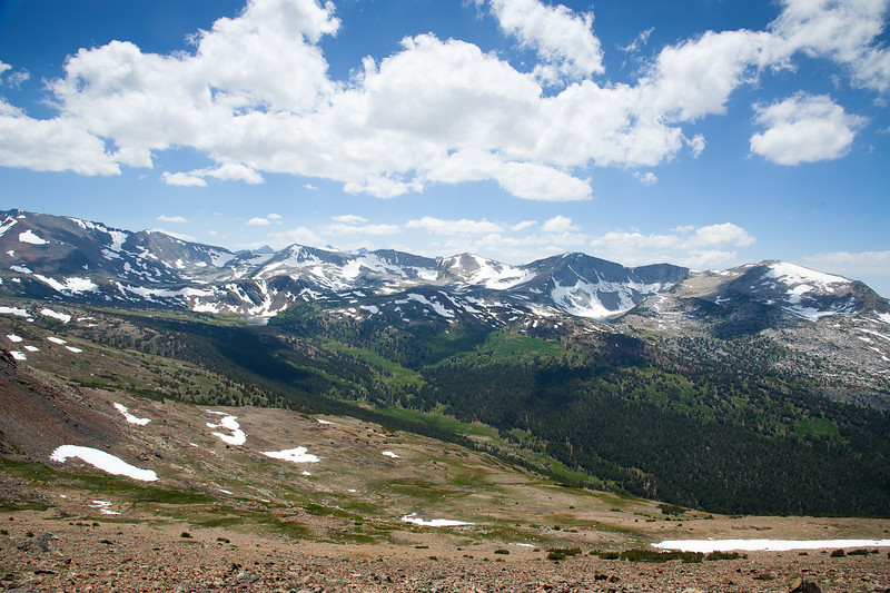 The Kuna Crest and Parker Pass drainage