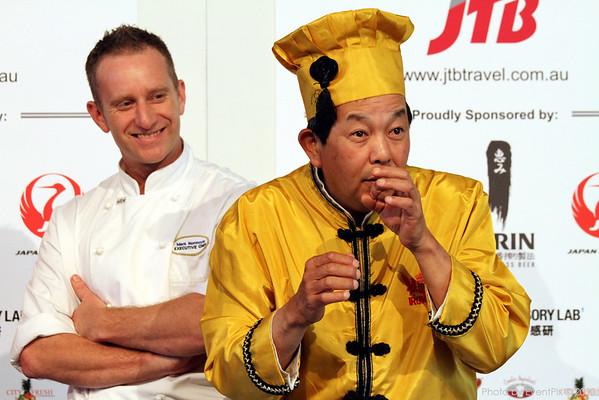 Iron Chef Event in Melbourne - media call