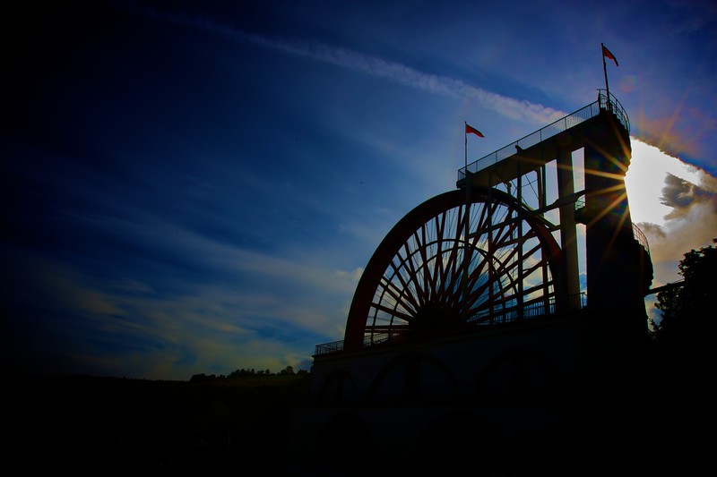 Lady Isabella, the Laxey water-wheel.