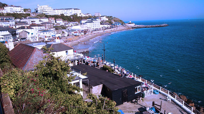 We started our coastal hike in Ventnor. From there we planned to walk most of the South-West coast.