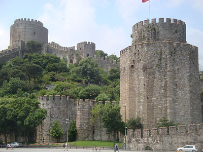 Bosphorus castle towers