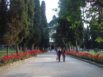 Topkapi Palace garden