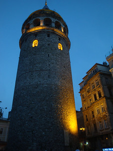 By following the tram tracks from the main square as instructed, I finally found my hostel - a stone's throw from the historic Galata Tower!