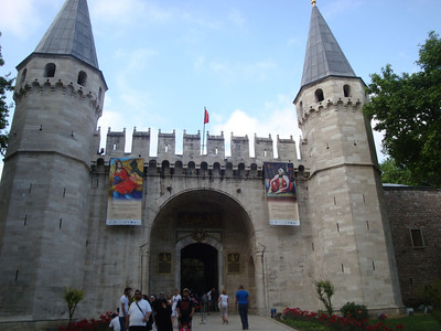 Then I headed to Topkapi Palace - for many hundreds of years, the home of sultans and their extensive families.