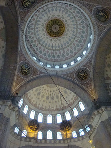 The main feature of any mosque seems to be its dome, which is invariably beautifully tiled.