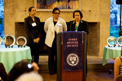 James Brister Society Student & Faculty Leadership Awards 4/8/11