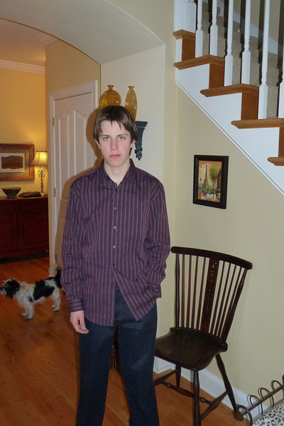 Jacob before the dance