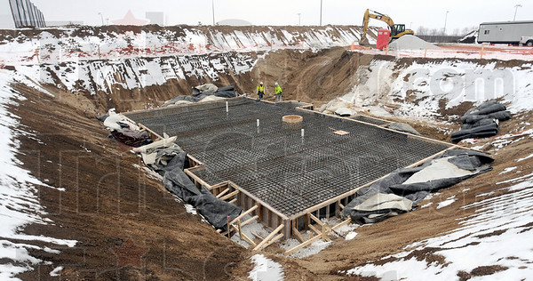 Construction: Construction has begun on the new headworks facility at the Terre Haute Wastewater Treatment Plant.