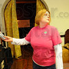 Searching: Jennifer Forbes uses a K2 energy detector to search for paranormal activity in Zac chambers' Brazil home.