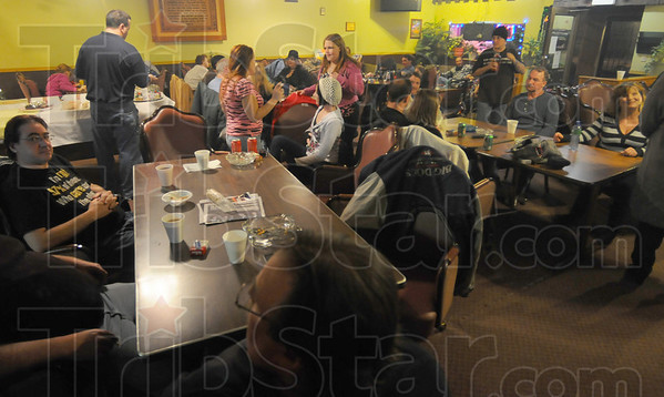 Full house: Club Soda started its New year's Eve party about 8:00p.m. Friday. The club kept its doors open overnight to accomodate anyone who wanted to ring in the new year and then some.