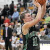 Shot: West Vigo's #12, Jordan Houser takes a short jumshot during second half action at Terre Haute North Friday night.