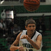 Looking: West Vigo's #43 Ryan Crowther fires the ball to an open teammate during game action Friday night.
