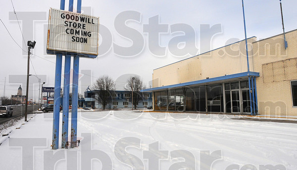 Recycled: Goodwill, refered to as America's original recycler by director Bill Tennis, is recycling the old Blockbuster Video store on South third street in Terre Haute.