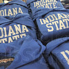 Gear up: Propective students can find a all the Indiana State gear they will need at the campus bookstore located in the student union.