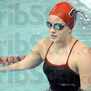 Casey: Terre Haute North swimmer Casey Powers starts her Wednesday workout to prepare for the annual North/South swim meet.