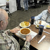 Lunch: Bud and Sondra Rogers of Terre Haute enjoy lunch Tuesday afternoon at Mel's Diner.