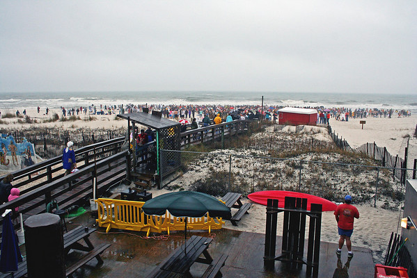 Polar Bear Dip at Flora-bama