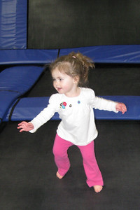 Sky Zone trampoline house