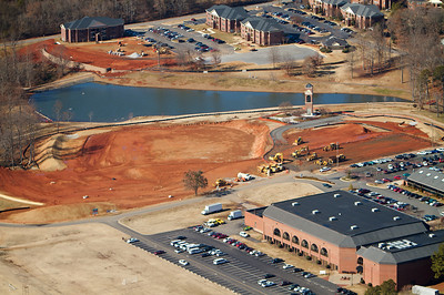 Aerial Photos of Gardner-Webb University; January 19, 2011.
