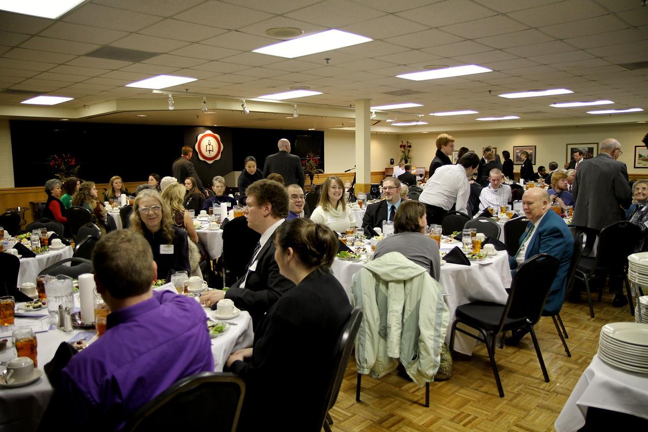 Winter CSO Dinner; January 27, 2011.
