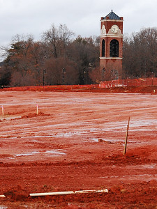 Gardner-Webb construction on the new Tucker Student Center
