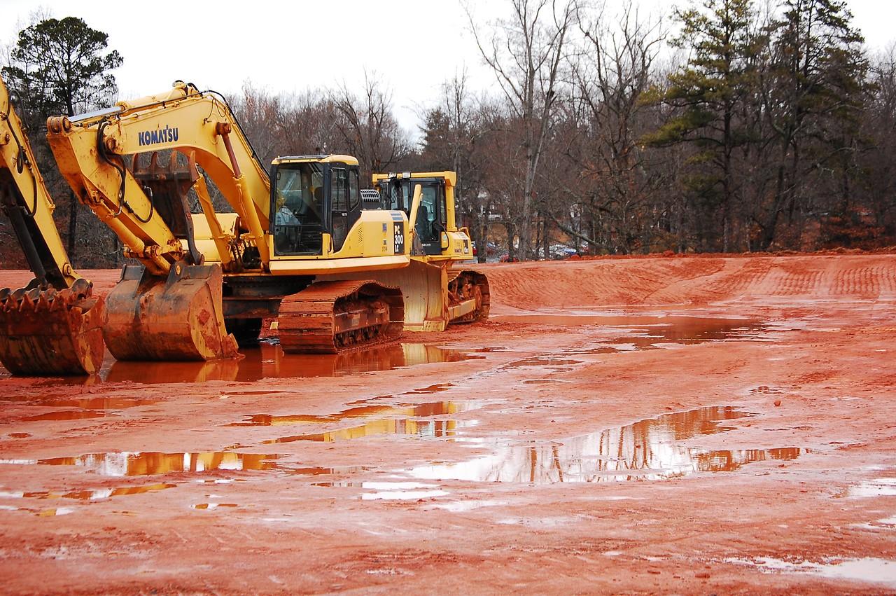 Gardner-Webb construction on the new Tucker Student Center