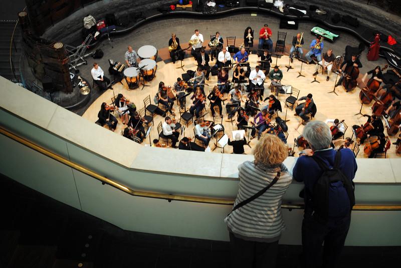 Live orchestra