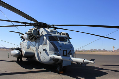 July 15 & July 30 - US Marines CH-53Es at Deer Valley Airport