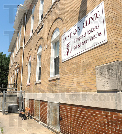 Tribune-Star/Jim Avelis<br /> Searching: St. Ann Clinic is exploring the possibility of expanding its services and becoming eligible for federal funding.