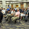 Hoops fans: Basketball fans attend the announcement by the IHSAA that the 2012 Girls Basketball Tournament will be held in Hulman Center Thursday afternoon.